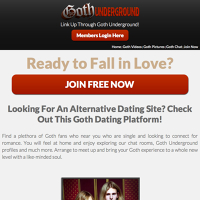 Check Out 10 Hottest Goth Cam Sites | HookupCloud.com