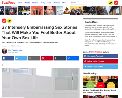 The Best Embarrassing Sex Stories Online - HookupCloud